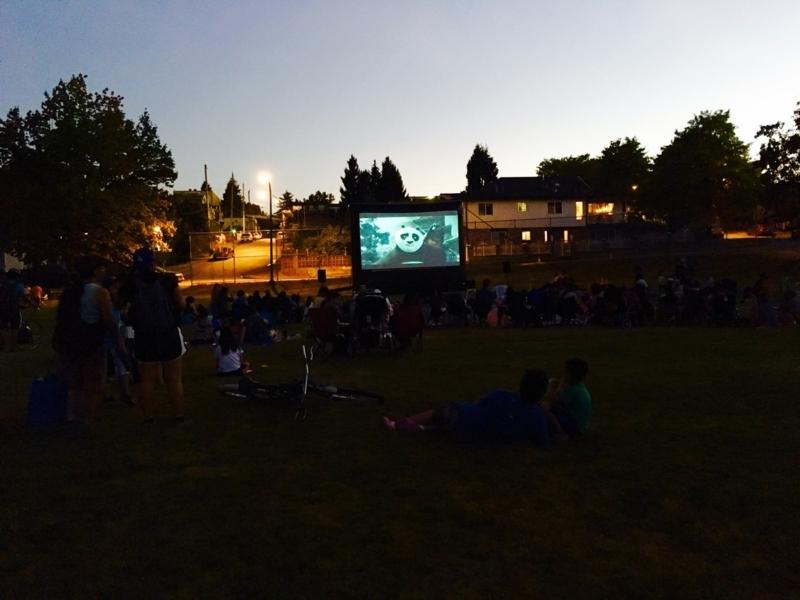カナダ・バンクーバー 夏のおすすめイベント:野外映画