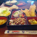 バンクーバー おすすめレストラン ① SAMURAI 安くてお腹いっぱいになる日本食屋さん。