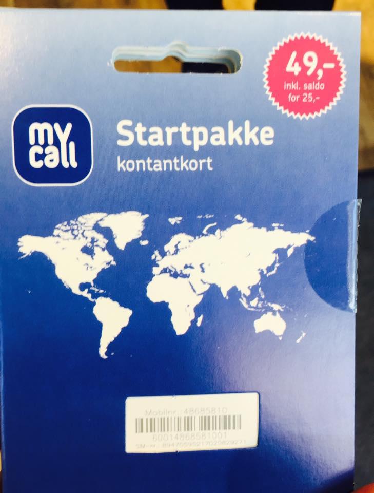 ノルウェーの携帯(SIMカード)の購入・使用方法!