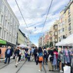 ノルウェー・オスロの秋イベント!Majorstuenのマーケットで冬物を安くゲット!